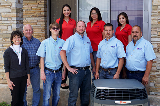 Mr Wilson Heating & Air Conditioning San Antonio AC Repair Service Team