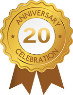 Mr Wilson Heating and Air Conditioning 20 Year Anniversary Seal 20 Web Opt